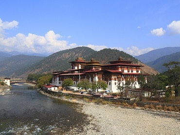 The Punakha Dzong Bhutan
