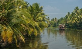 Indien Backwaters in Kerala