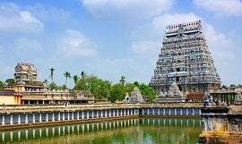 Indien Tem pel in Chidambaram