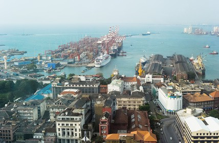 Colombo Hafen