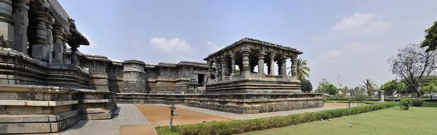 Halebid, Hoysaleswara Tempel