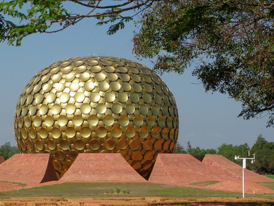 Pondicherry, Matrimandir in Auroville