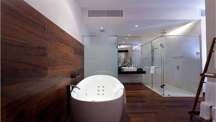 the fortress spa resort badezimmer indien mosaik. Black Bedroom Furniture Sets. Home Design Ideas