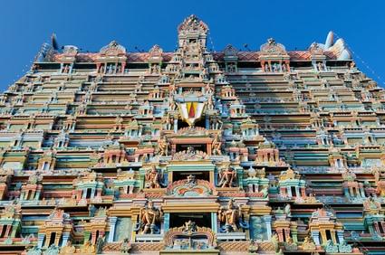 Trichy, Srirangam Tempel