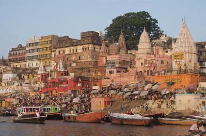 Varanasi Gangesufer