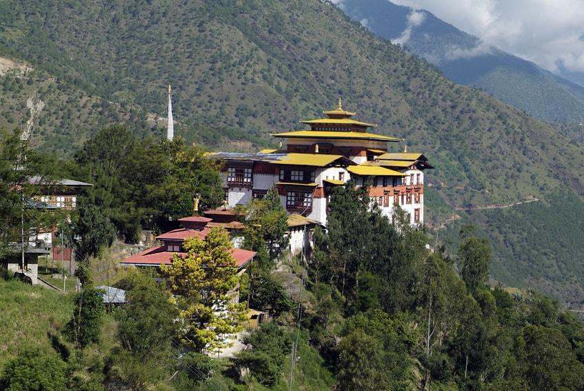 Bhutan Tashigang Dzong