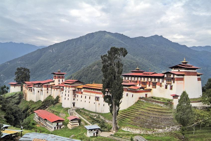 Tongsa Dzong Bhutan
