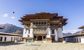 Phobjika-Tal Bhutan