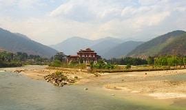 Punakha-Tal Bhutan