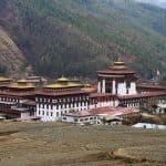 Bhutan Tashichho Dzong Thimphu