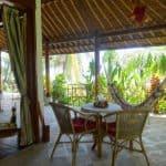 Prana Veda Sanctuary Bali Zimmerterrasse2