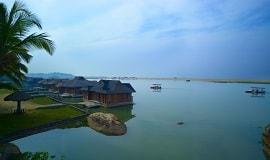Poovar Island Resort_Aussicht