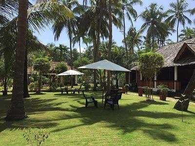 Yantra Ayurvedic Beach Resort Garten 1 Newsletter